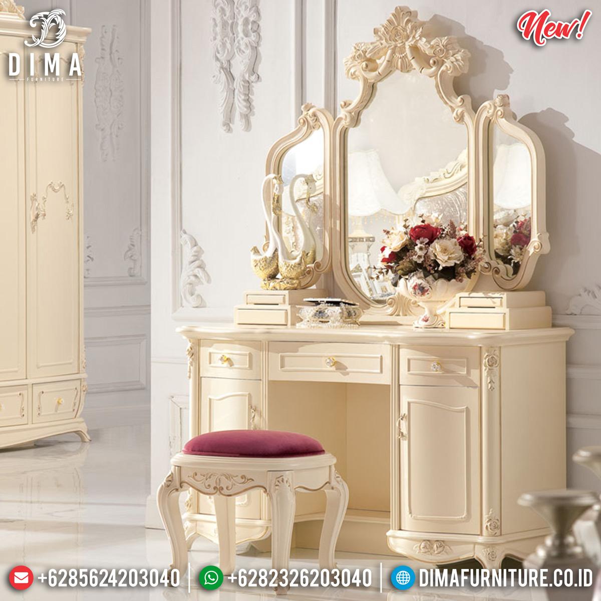 Meja Rias Mewah Jepara Luxury Type New Normal Realease MMJ-0779