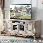 New Meja TV Mewah Luxury Classic High Class Design Interior Ispiring MMJ-0803