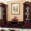 New Model Bufet TV Mewah Natural Classic Jati Luxury Carving Jepara MMJ-0798