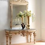 New Model Meja Konsol Mewah Luxury Carving Kayu Perhutani Jepara Desain Terbaru MMJ-0724
