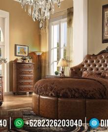 New Model Tempat Tidur Jepara Luxury, Kamar Set Klasik Mewah Best Seller MMJ-0750