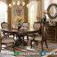 Set Meja Makan Klasik Jati Luxury Carving New Design Interior Italian Klasik MMJ-0706