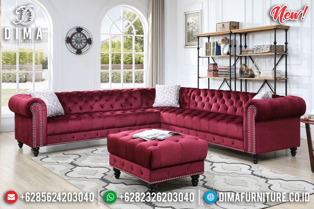Set Sofa Tamu Minimalis New Chesterfield Beautiful Furniture Jepara MMJ-0783 Detail 1