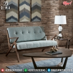 Sofa Minimalis 3 Seater Retro Classic Extraordinary Cheap Price MMJ-0792