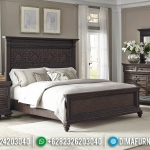 Tempat Tidur Minimalis Ukuran Queen New Modern Design Royals Natural Luxury MMJ-0745