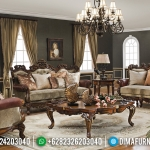 Valeria Set Sofa Tamu Mewah Ukiran Turkish Great Solid Wood Beautiful Inspiring MMJ-0811
