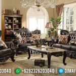 Wonderful Sofa Tamu Mewah Jati Natural Luxury Carving Solid Wood Good Quality MMJ-0812