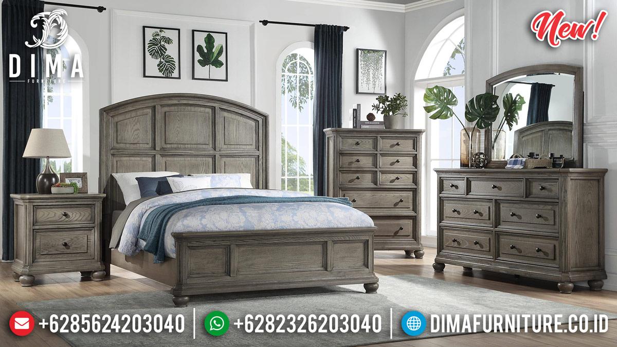 Custom Desain Kamar Set Minimalis Jati Natural Classic Nature Style MMJ-0895