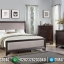Elegant Dan Simple Kamar Set Minimalis Jati Natural Brown Class MMJ-0897