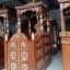 Furniture Jepara Mimbar Masjid Ukiran Emas Luxury Classic New Model MMJ-0844