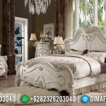 Harga Kamar Set Ukiran Jepara Luxury Carving White Duco Classic Great Quality MMJ-0907