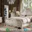 Harga Kamar Set Ukiran Jepara Luxury Carving White Duco Classic Great Quality MMJ-0907