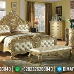 Incridible Desain Kamar Set Mewah Golden Shine Duco Color New Luxury MMJ-0870