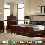 Inspiring Design Kamar Set Jati Minimalis Natural Solid Wood Perhutani MMJ-0901