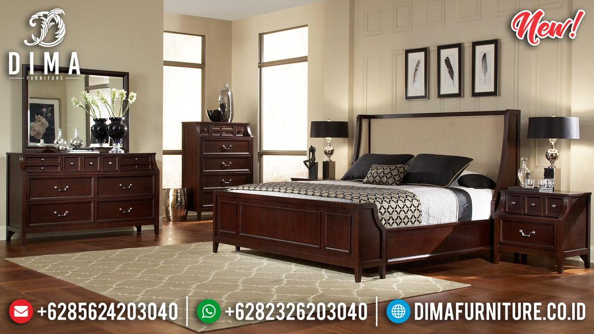 Inspiring Design Kamar Set Jati Minimalis Natural Solid Wood Perhutani MMJ-0901
