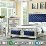 Jual Kamar Set Minimalis Modern Jepara Glass Combination Beautiful Elegant MMJ-0882