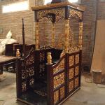 Jual Mimbar Jati Jepara Harga Terjangkau Desain Epic Luxury MMJ-0849