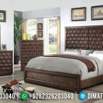 Luxury Minimalist Kamar Set Minimalis Natural Furniture Jepara Terbaru MMJ-0904