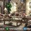 New Desain Sofa Tamu Mewah Jepara Luxury Carving Italian Barocco Type MMJ-0836