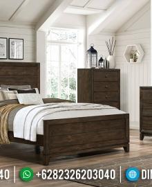 Renaissance Model Tempat Tidur Minimalis Jati Natural Luxury Classic MMJ-0879