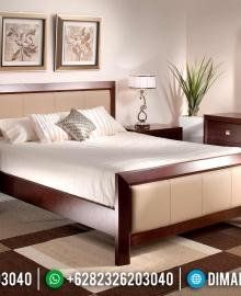 Jual Set Kamar Tidur Jepara, Tempat Tidur Mewah Minimalis, Kamar Set Jati MMJ-0003
