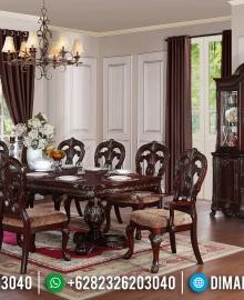 Meja Makan Jepara Terbaru, Meja Makan Mewah Klasik, Ruang Makan Mewah MMJ-0005