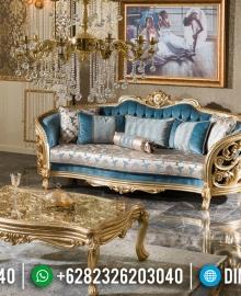 Terbaruuu! Set Sofa Tamu Jepara Mewah Ukiran Klasik Gold Leaf MMJ-0042