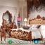 Model Tempat Tidur Jepara Jati Natural Mewah MMJ-0094