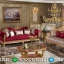 Luxury Set Kursi Sofa Tamu Jepara Mewah Napolone MMJ-0143