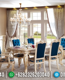 Model Furniture Terbaru Meja Makan Jepara Mewah MMJ-0161