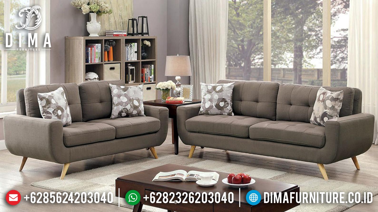 Model Sofa Tamu Jepara Minimalis Sedori Fabric MMJ-0119