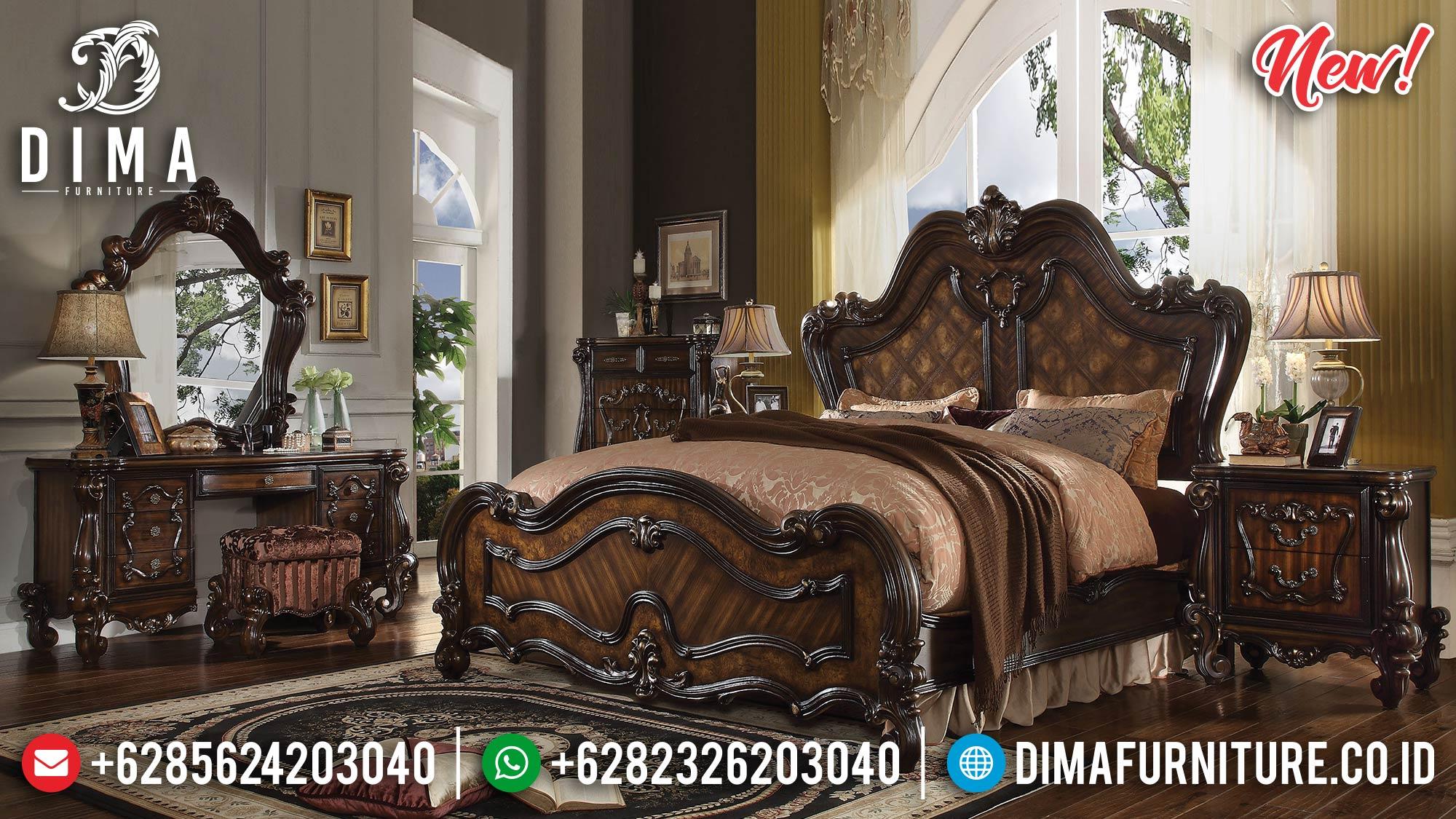 Jual Kamar Set Mewah Jati Jepara Awesome MMJ-0228