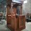 Mimbar Masjid Jepara Jati Minimalis Terbaru Natural MMJ-0203