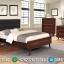 Model Kamar Set Jepara Tempat Tidur Minimalis Retro MMJ-0219