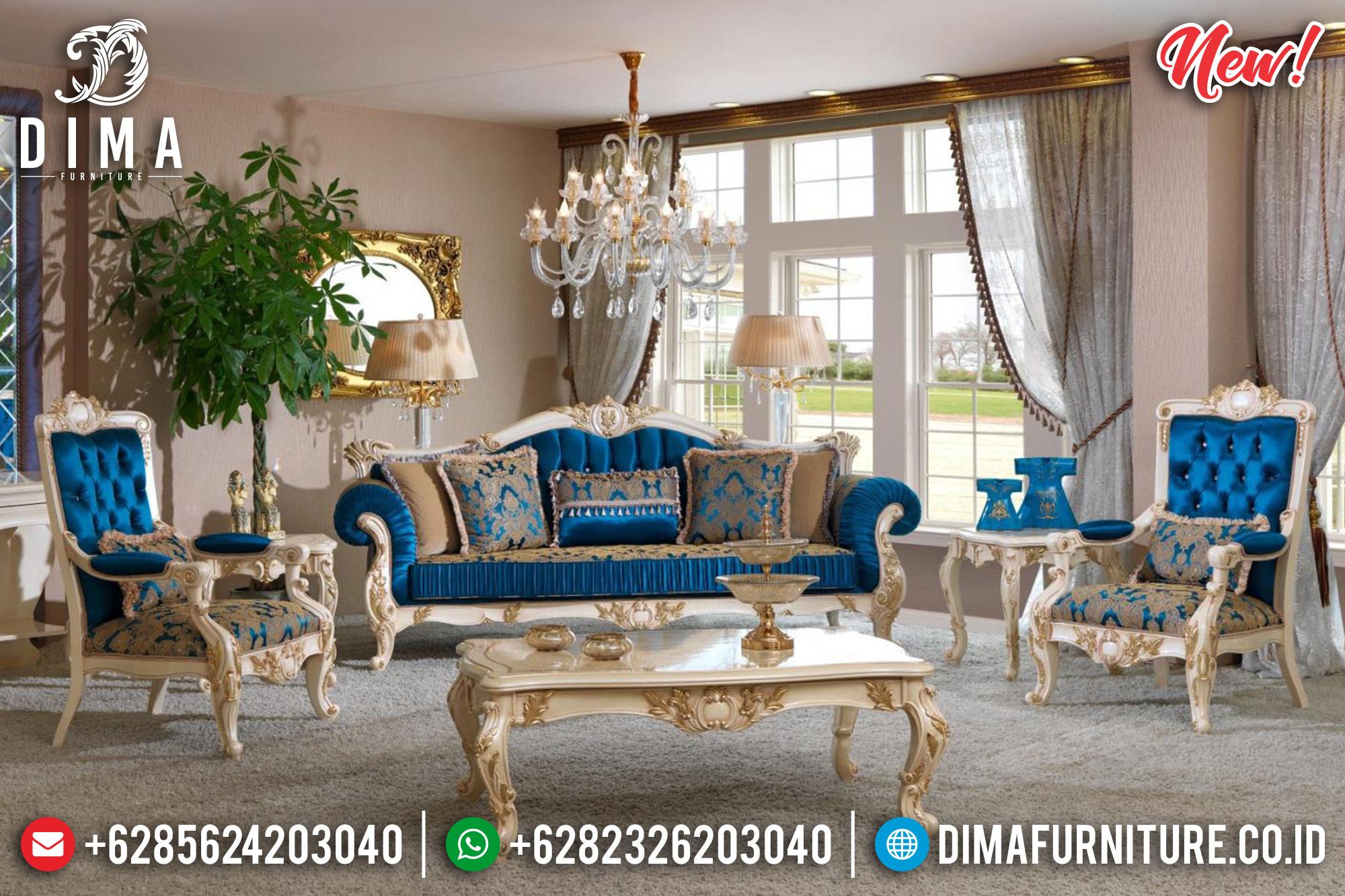 Erciyes Set 3 1 1 Sofa Tamu Jepara Mewah Classic MMJ-0238