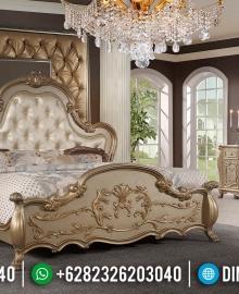 Set Tempat Tidur Mewah Gold Classic 2020 MMJ-0235