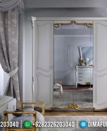 Desain Terbaru Lemari Pakaian Cermin Mewah Bellevue MMJ-0322