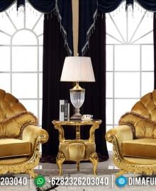Harga Kursi Teras Mewah Klasik Luxury Golden Leaf MMJ-0315