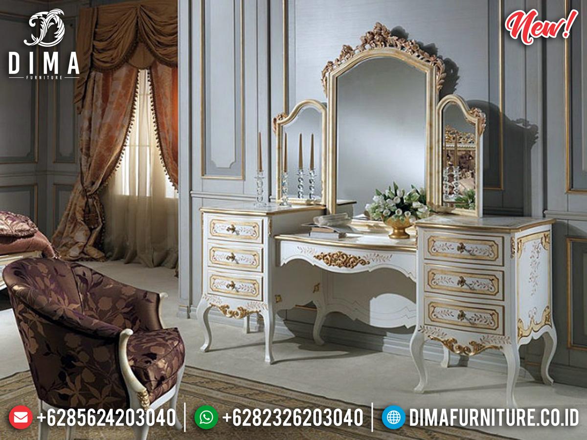 Model Meja Konsol Mewah Ukiran Jepara Duco Gold Leaf MMJ-0324