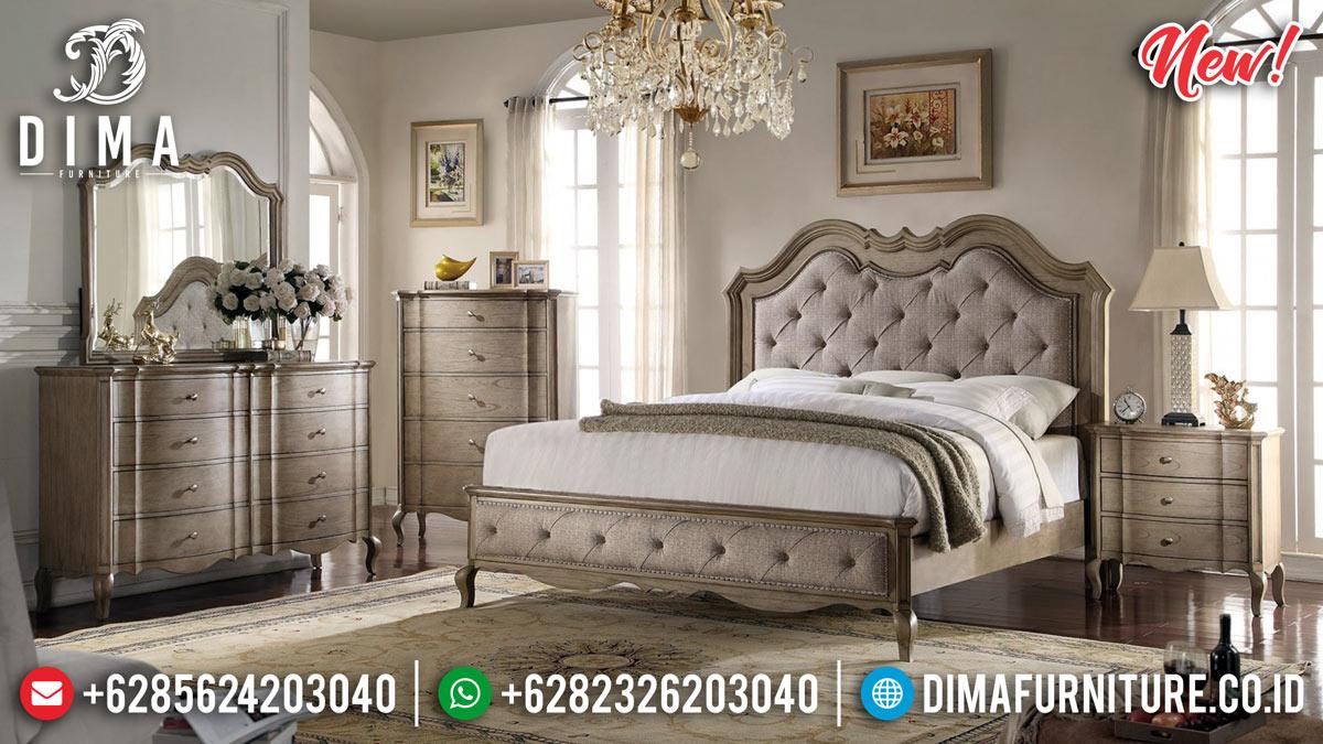 Model Terbaru Tempat Tidur Klasik Natural Vintage MMJ-0283