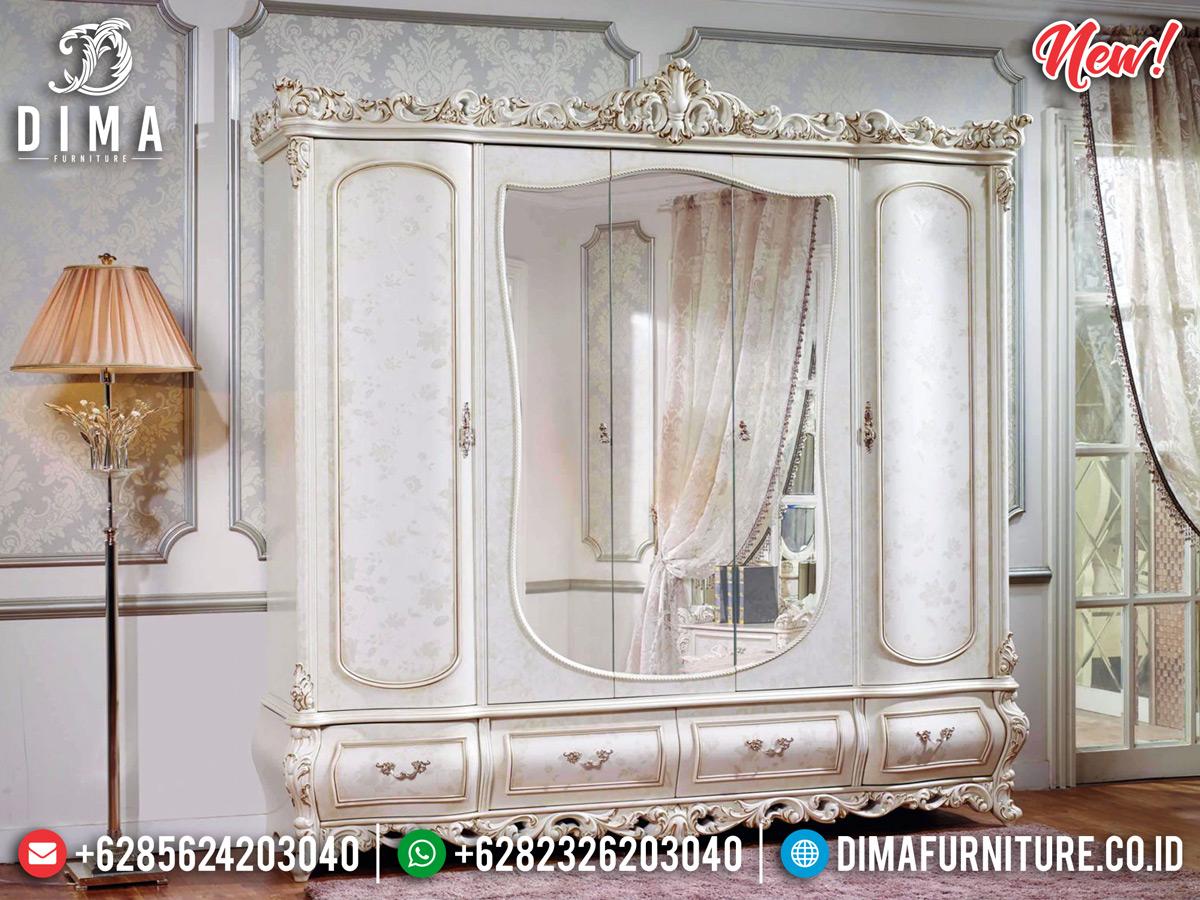 Termewah Lemari Pakaian Luxury Ukiran Khas Jepara MMJ-0321