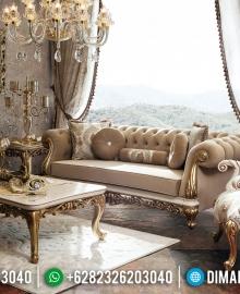 Furniture Jepara Murah Sofa Tamu Mewah Comfortable Design Luxury Classic MMJ-0398