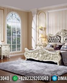 New Tempat Tidur Mewah Ukiran Klasik Jepara MMJ-0379