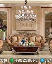 Sofa Tamu Mewah Persian Kingdom Furniture Jepara Asli MMJ-0397