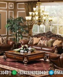 Harga Set Sofa Tamu Mewah Jati Ukiran Khas Furniture Jepara MMJ-0422
