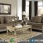 Jual Sofa Tamu Mewah Jepara Putih Ivory Duco Desain Classic Interior MMJ-0457