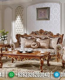 Set Sofa Tamu Jepara Royal Foam Natural Luxury Classic MMJ-0474