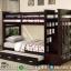 Tempat Tidur Tingkat Anak New Desain 2020 Natural Jati TPK Jepara MMJ-0431
