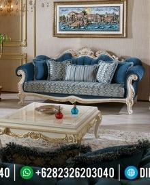 Desain Sofa Tamu Mewah Ukiran Klasik Jepara Terbaru MMJ-0542