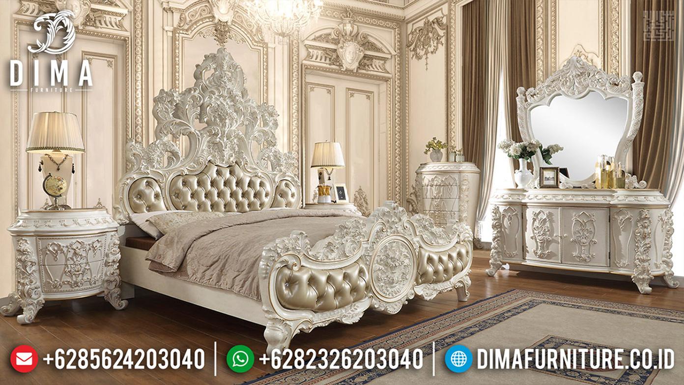 Harga Kamar Set Mewah Luxury Carving Royal Furniture Jepara MMJ-0491